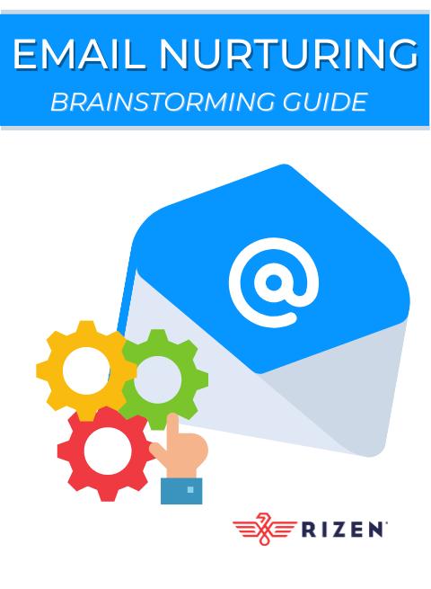 Email Nurturing Brainstorm Cover